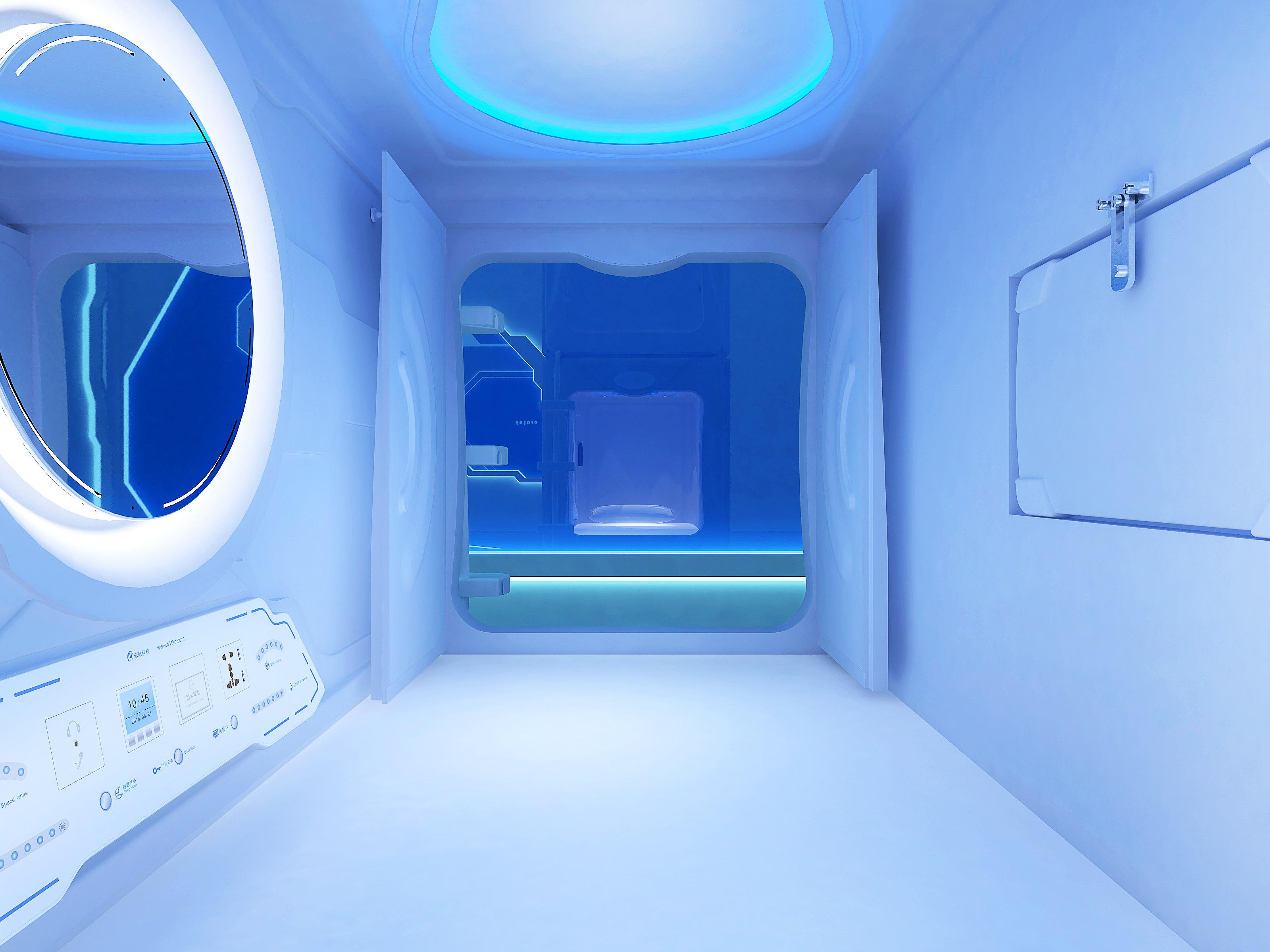 太空艙簡潔款豎式單人艙旗艦版