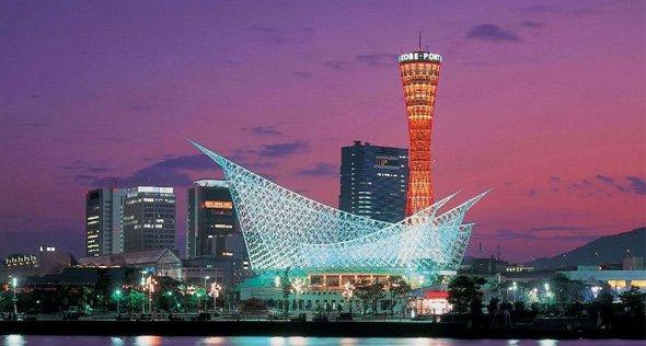 日本神戶市太空艙花園酒店