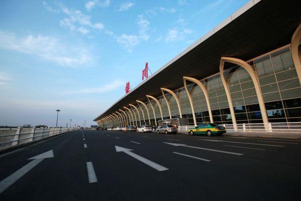 銀川河東國際機場太空艙睡眠區