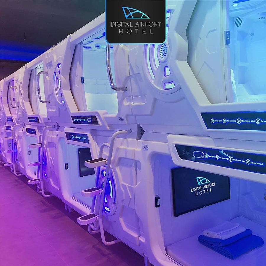 太空床,太空艙酒店