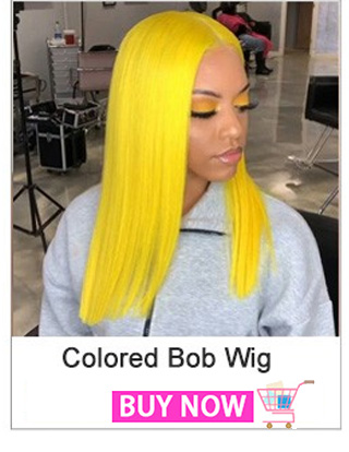 Grey Colored Human Hair Wigs For Women Blonde Bob Wig