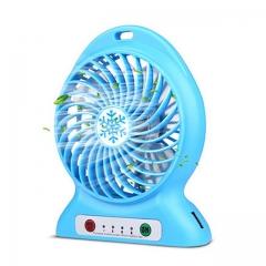 HAIMEI-WU USB Small Fan Fold Portable Mobile Power Mini Fan Radio Charger 10000mAh 5000mAh Fan Mini Electric Fan Color : White, Size : Five Thousand mAh